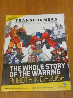 Transformers Definitive G1 Collection Robots In Disguise Uk Magazine =