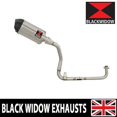 MSX 125 GROM High Exhaust System + Oval Stainless + Carbon Tip Silencer 200ST