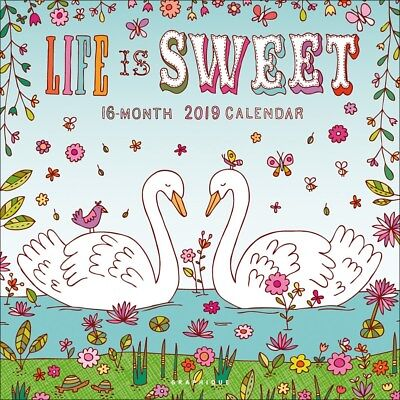 Life Is Sweet Calendrier 2019 carré 30 x 30 cm
