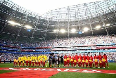 England football team World Cup 2018 in Russia photograph picture poster print