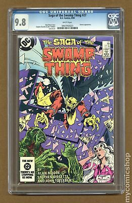 Swamp Thing (2nd Series) #27 1984 CGC 9.8 0907950023