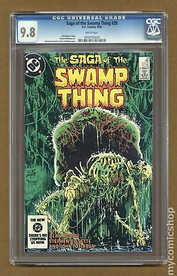 Swamp Thing (2nd Series) #28 1984 CGC 9.8 0958765026