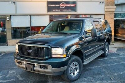 2003 Ford Excursion  Diesel limited free shipping warranty 4x4 finance cheap clean