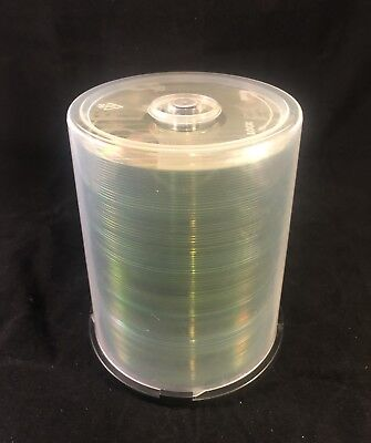 100-Pack CompUSA Logo Blank CD-R CDR Recordable Discs 80 Minutes 700MB New