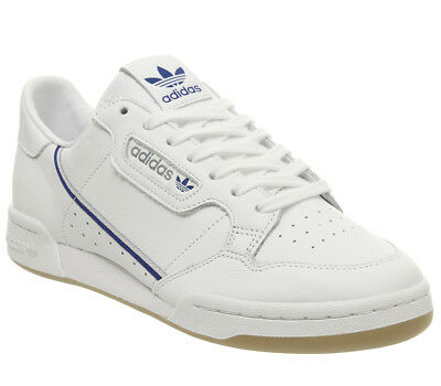newest 9896b d72da Adidas Continental 80S Trainers White Grey One Navy Gum Tfl Trainers Shoes
