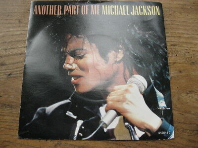 """EX  MICHAEL JACKSON - Another part of me / instrumental - 7"""" single"""
