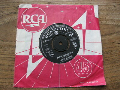 """VG+  BARRY MCGUIRE - Eve Of Destruction / What Exactly Is The Matter - 7"""" single"""