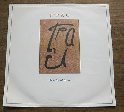 """EX  T'PAU  - Heart and soul / On the wing  - 7"""" Single in P/S  EX"""