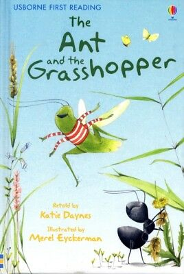The Ant and the Grasshopper (Usborne First Reading: Level 1) (Har...