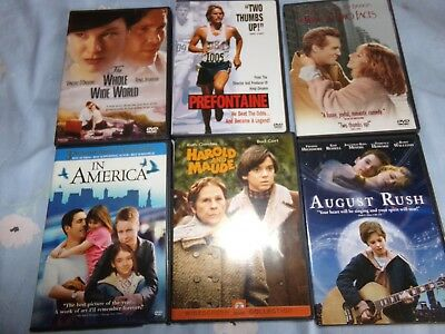 8-Assorted DVDs-  All in great shape-watched once