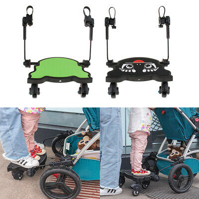 Stroller / Pushchair / Buggy Step Board With Universal Adapter