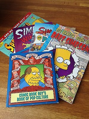 Brand New Collection of Simpsons Books