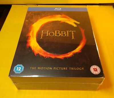 The Hobbit Trilogy (Blu-ray,REGION FREE)Brand NEW(Sealed)-Free S&H with Tracking