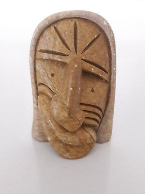 Mohawk Six Nations Iroquois Soapstone Carving, George Henry