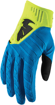 Thor S9 Rebound Gloves Size Large Blue Yellow