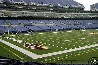 Tampa Bay Buccaneers Vs. Baltimore Ravens 2 Tickets Lower Level 12/16/2018