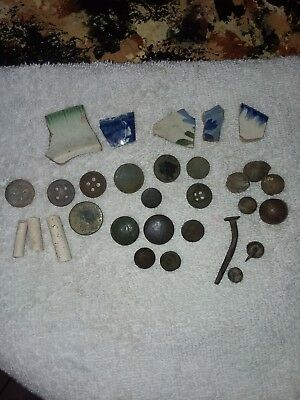Lot Of War Of 1812 Artifacts