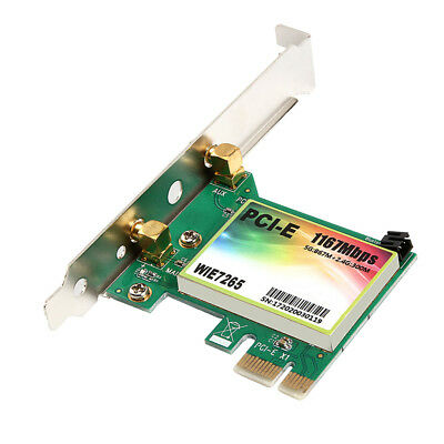 Wireless Bluetooth Network Card,1167Mbps Dual Band PCI-E Express Adapter