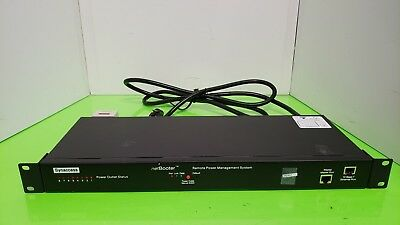 Synaccess NetBooter NP-08B 8 Switched Outlet Networked Remote Power Control PDU