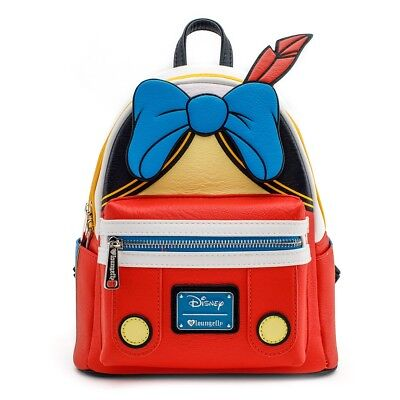 Loungefly Disney Pinocchio Cosplay Outfit Mini Faux Leather Backpack  WDBK0537 59ae3f0c332