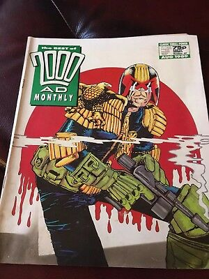 2000AD Sci Fi Special 1989 August