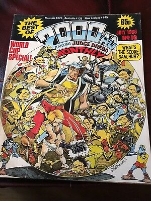 2000AD Monthly July 1986