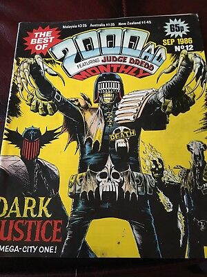 2000AD Monthly Sept 1986