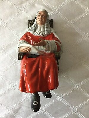 OnlyH VINTAGE ROYAL DOULTON The Judge PORCELAIN FIGURINE HN 2443 EXCELLENT