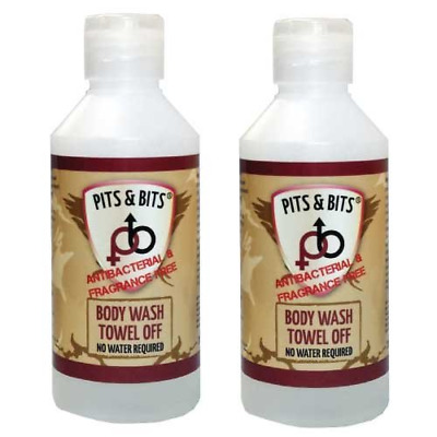 Pits & Bits 200ml Antibacterial Body Wash  2 per pack