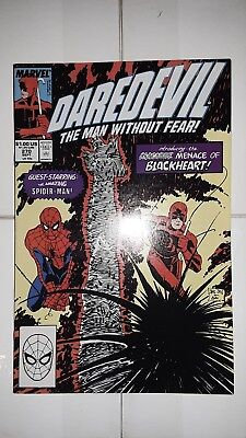 Daredevil The Man Without Fear #270 1st app. Blackheart (1989 Marvel) VF-