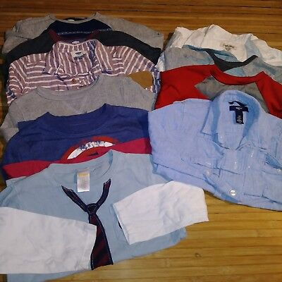Toddler Boys 73 piece All Season clothing Lot Sizes 3t 4t and 4/5