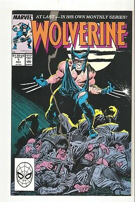 Wolverine #1 (Nov 1988) NM 9.4   1st issue of 1st ongoing series