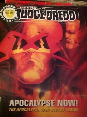 The Complete Judge Dredd Issue 24 Jan 1994