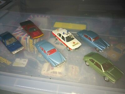 Lotto Dinky Toys 4 Modelli Scala 1:43 / 1:50 Made In France / England