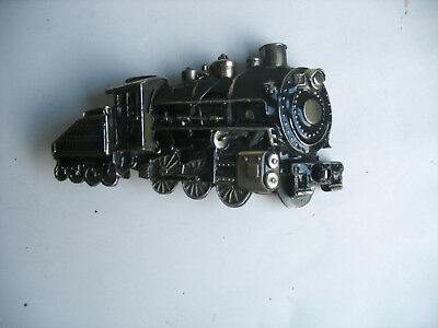 Vintage Train Belt Buckle The Great American Buckle Co. Chicago 272 Steam Engine
