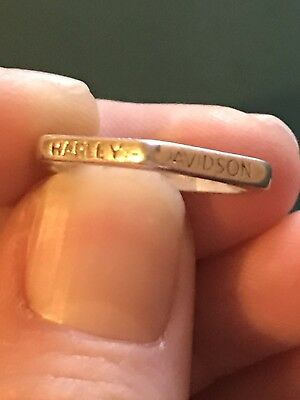 Harley Davidson Live To Ride Womens Size 7 Ring