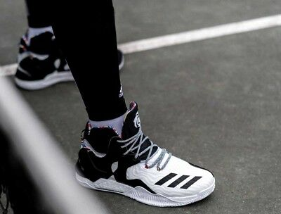 cheap for discount d9257 78498 NEW adidas D Rose 7 Arthur Ashe BHM Black History BY3475 Boost SZ 16  Deadstock