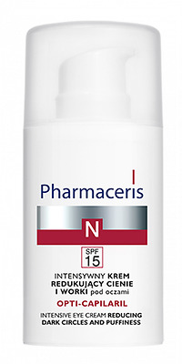 Pharmaceris N Intensive Eye Cream Intensywny Krem Redukujacy Cienie I Worki 15Ml