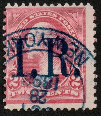 USA 1898 STAMP REVENUE WASHINGTON 2c #R155B
