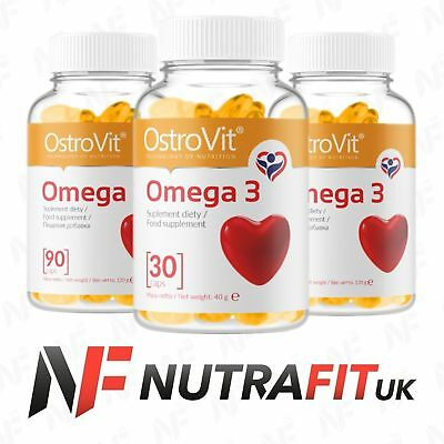 OSTROVIT OMEGA 3 fish oil fatty acids EPA DHA vitamin E