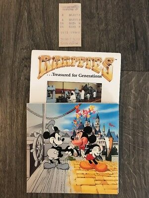 1987 60th Anniversary Mickey Mouse Rarities Mint Fine Silver Coin