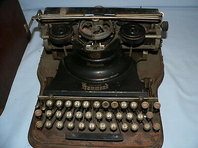 Antique Hammond Multiplex Typewriter