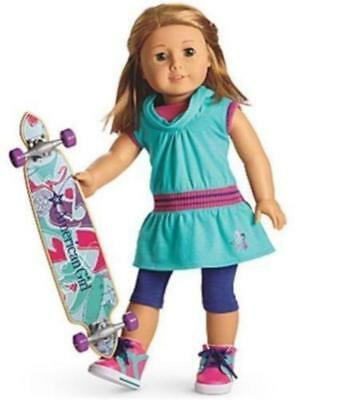 American Girl New In Box - Doll Skateboarding Outfit Set! Retired