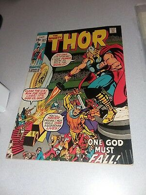 THOR 181 marvel comics 1970 STAN LEE NEAL ADAMS ART MEPHISTO AND LOKI APPEARANCE