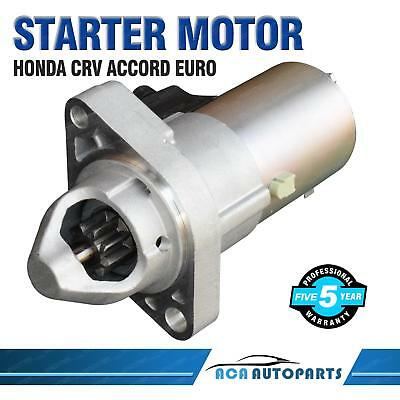 Starter Motor for Honda Accord EURO CL CM CP CR CU Petrol 4Cyl 2.4L BRAND NEW