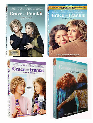 Grace & AND Frankie Season 1 2 3 4 DVD Complete Series 1-4 BOX SET NEW SEALED