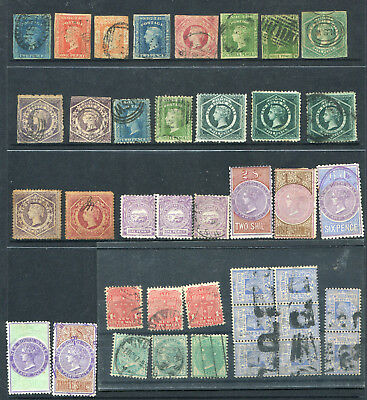 New South Wales 1854/ 1900 Selection Of Better Issues From Old Estate X 30