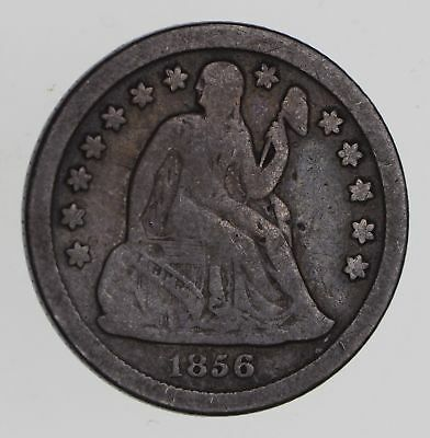 1856-O Seated Liberty Dime - Circulated *7751