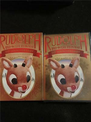Rudolph the Red-Nosed Reindeer (DVD, 2014, 50th Anniversary) With Rare Slipcover