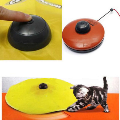 Pet Cat Toy Undercover Cats Meow Play Fabric Moving Mouse For Cat Funny New